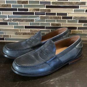 Cole Haan pinch hand sewn cornflower blue loafers